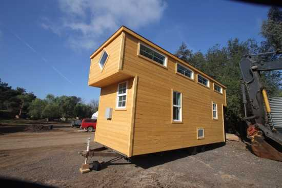 9 X 24 CUSTOM DUAL LOFT MODERN TINY HOUSE 4 SALE