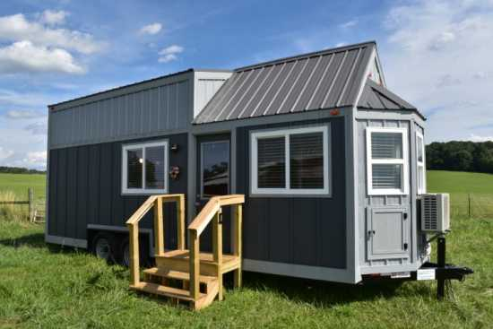 Custom 24X8 Tiny House