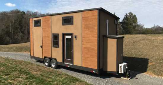 24 Ft, 8340 LB, Modern Composite Tiny Home