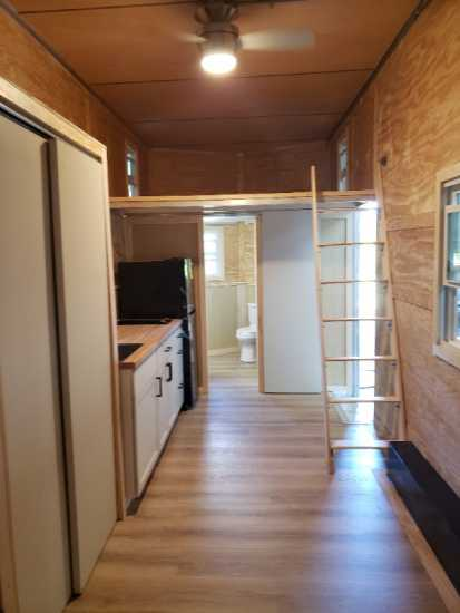 "24'x8'6"" Tiny Home waiting for your PERSONAL TOUCH"