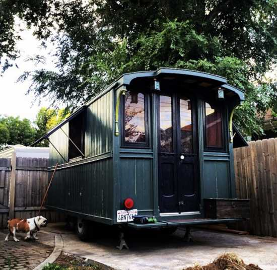 Caboose style hand crafted Trailer